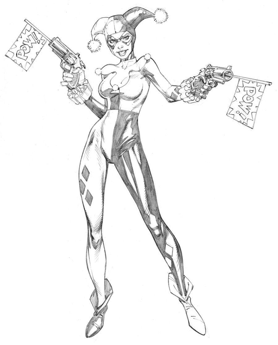 Harley Quinn DC Comics by RandyGreen.deviantart.com on