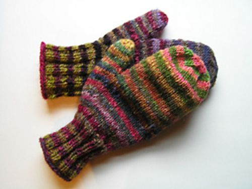 Noro Striped Lined Mittens Pattern By Kelly Ziegler Mittens