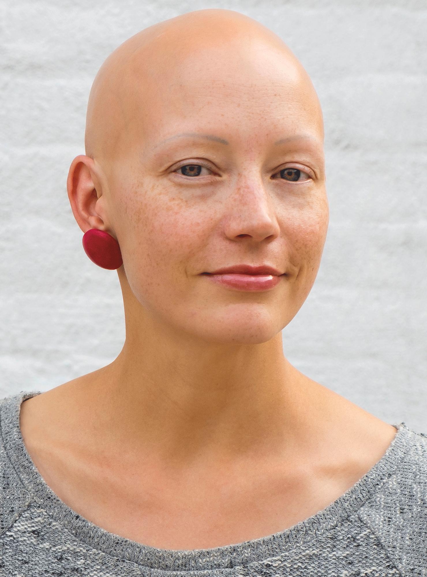 Bald, black and beautiful