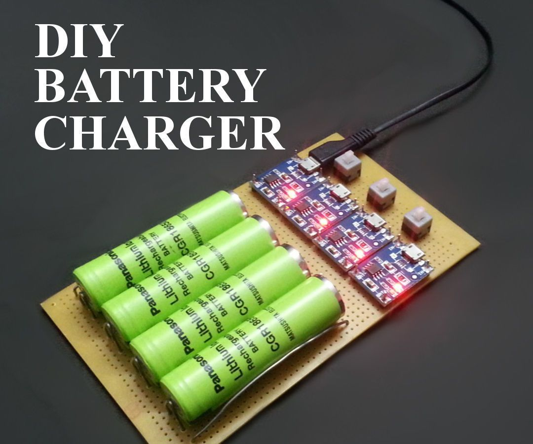 How to Make Battery Charger at Home #coolelectronics