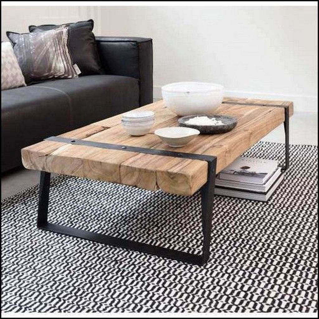39 Lovely Diy Industrial Coffee Table Ideas On A Budget