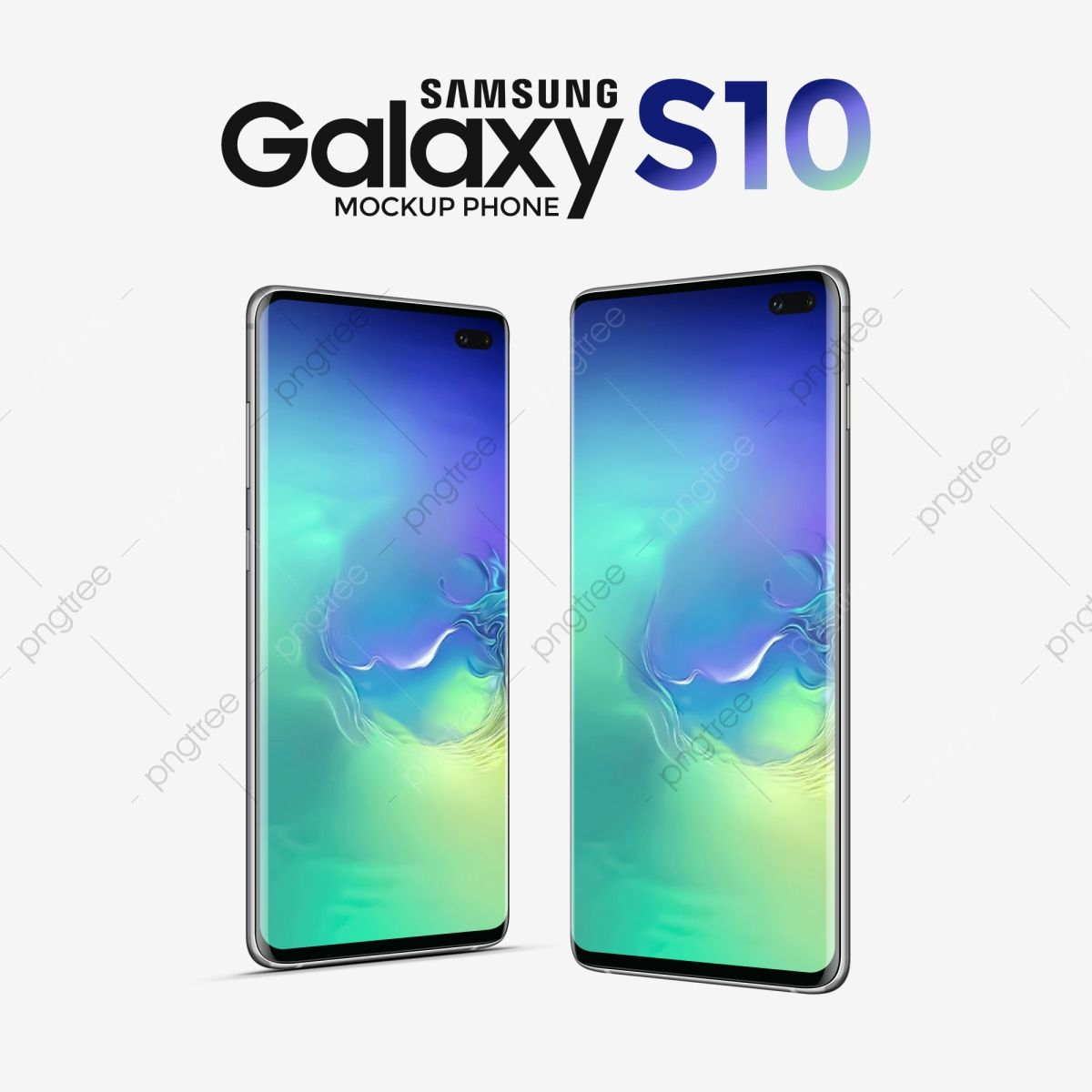 Samsung Galaxy S10 Mockup Green Blue Phone Smartphone Hand Png Transparent Clipart Image And Psd File For Free Download Samsung Samsung Galaxy Galaxy