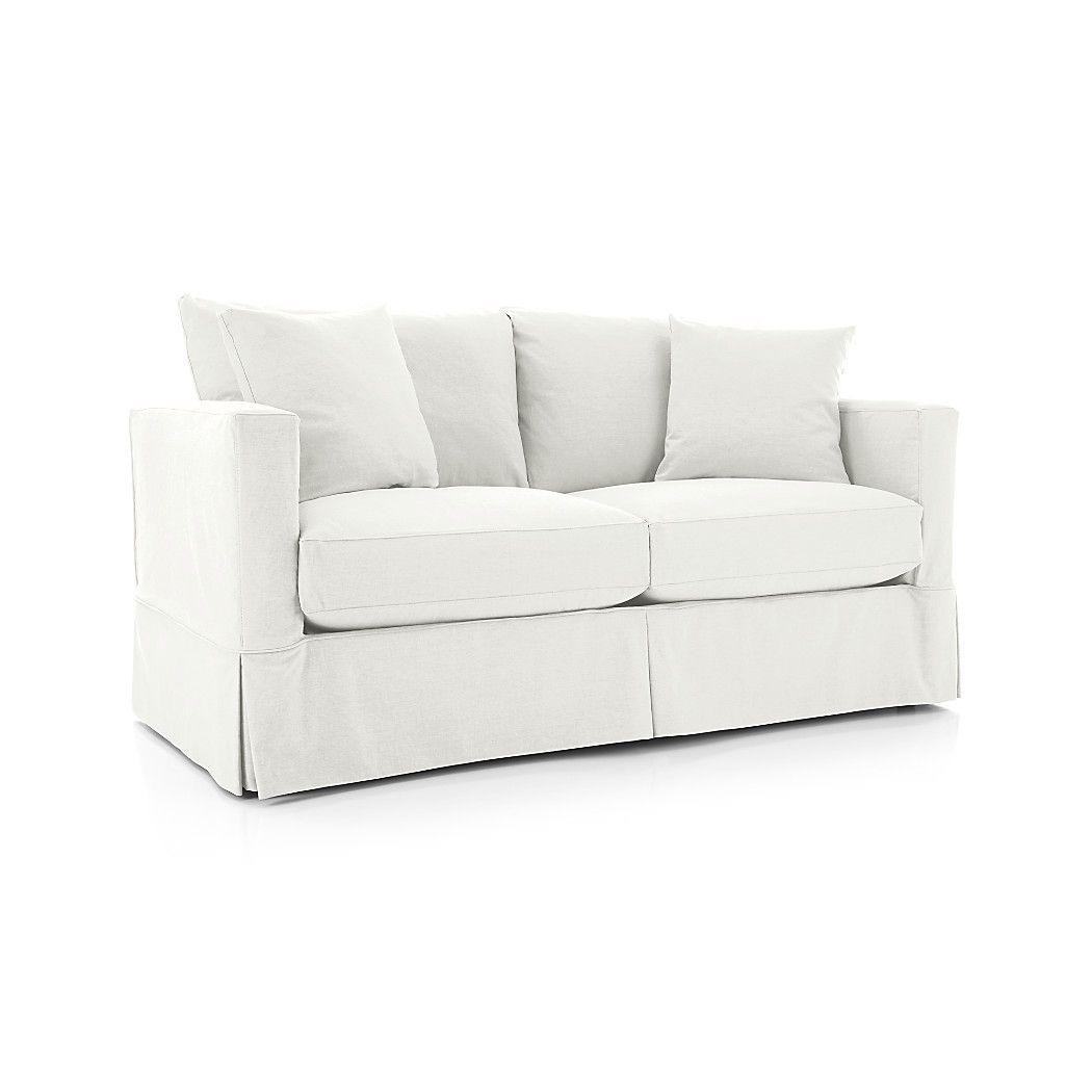 Willow Modern Slipcovered Full Sleeper Sofa P L A Y R O