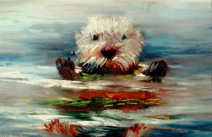 OTTERS- DRAWING AND PAINTING OTTERS