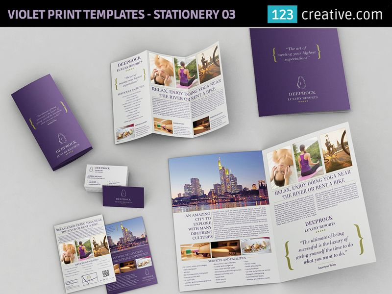 violet print templates bundle bifold brochure trifold brochure buy print templates bundle professional bifold brochure template trifold brochure template business flyer template and business card design template wajeb Image collections