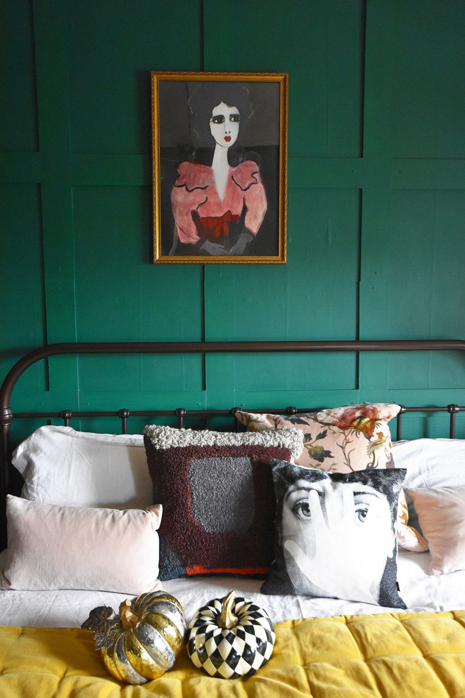 The girl with the green sofa halloween bedroom ideas amara home