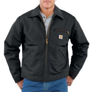 Carhartt Men's Detroit Duck Jacket - Black M-3XL and L Tall