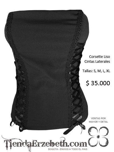 b13df115e7ef Corset Cordones Bogota baratos goticos metaleros tienda rockeros almacen  ropa femenina medellin cali yopal panama manizales ventas por mayor y detal