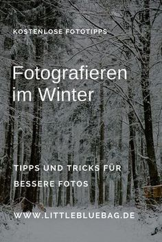 Photo of Photography in winter – travel and photography blog LittleBlueBag