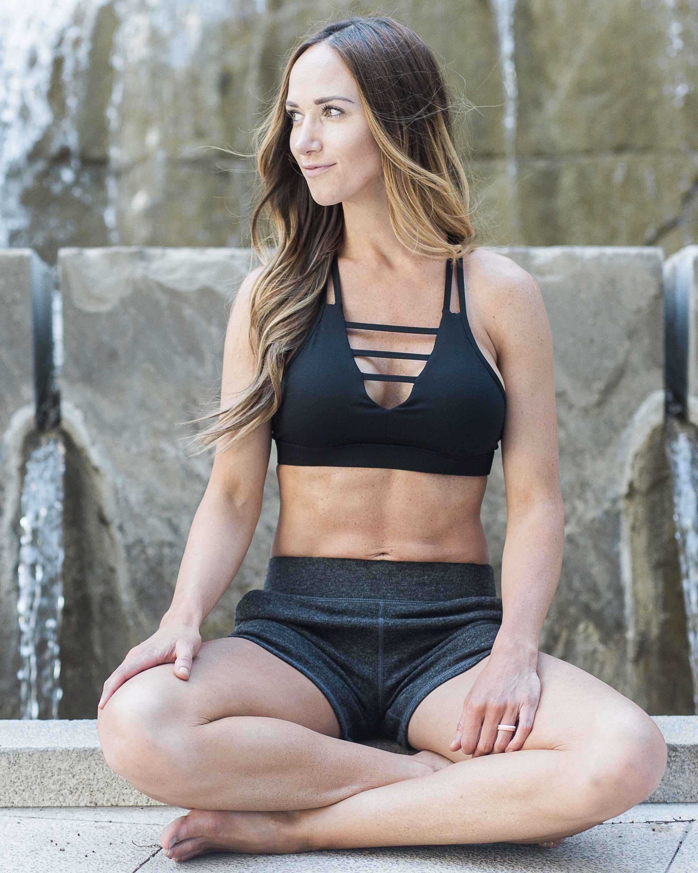 8af2358f12e Zyia Active Black Grid Bra -  49 Sizes XS-XL Also available in  White