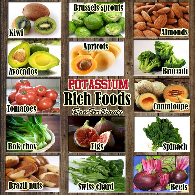 When dining out increase potassium by ordering a salad steamed – Potassium Rich Foods Chart