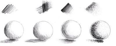 pencil shading techniques hatching and stippling pinterest