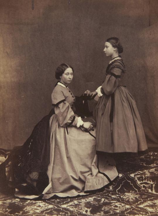 Princess Alice and her sister Princess Helena of the ...