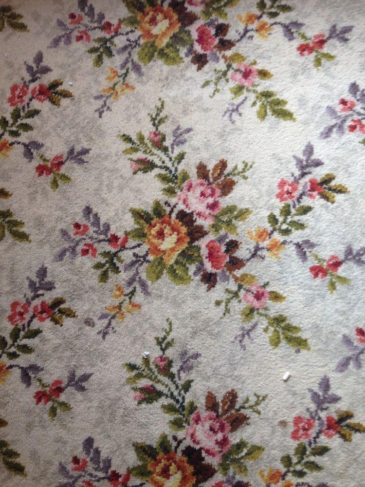 Vintage Floral Axminster Axmor Carpet Vintage Floral