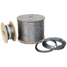Galvanized Aircraft Cable 1x19 5 64 Get It At The Snare Shop Www Snareshop Com With Images Stainless Steel Cable Stainless Steel