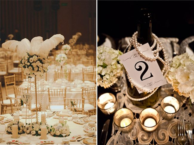Id E D Co Table Bouteilles Perles D Co Mariage Pinterest Idee Deco Table Deco Table Et