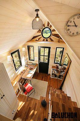 La tiny house avonlea site de tinyhouse baluchon also homes rh pinterest