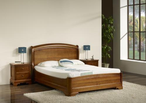 Lit 140x190 En Merisier Massif De Style Louis Philippe Meuble En Home Decor Furniture Home