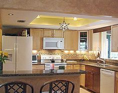 idea to replace drop ceiling in kitchen kitchen lighting ideas rh pinterest com LED Kitchen Ceiling Lights Kitchen Ceiling Lighting Ideas
