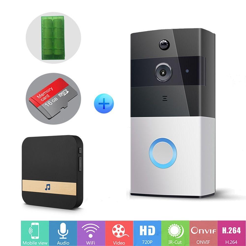 Ip Video Intercom Wi Fi Video Door Phone Ring Door Bell Wifi