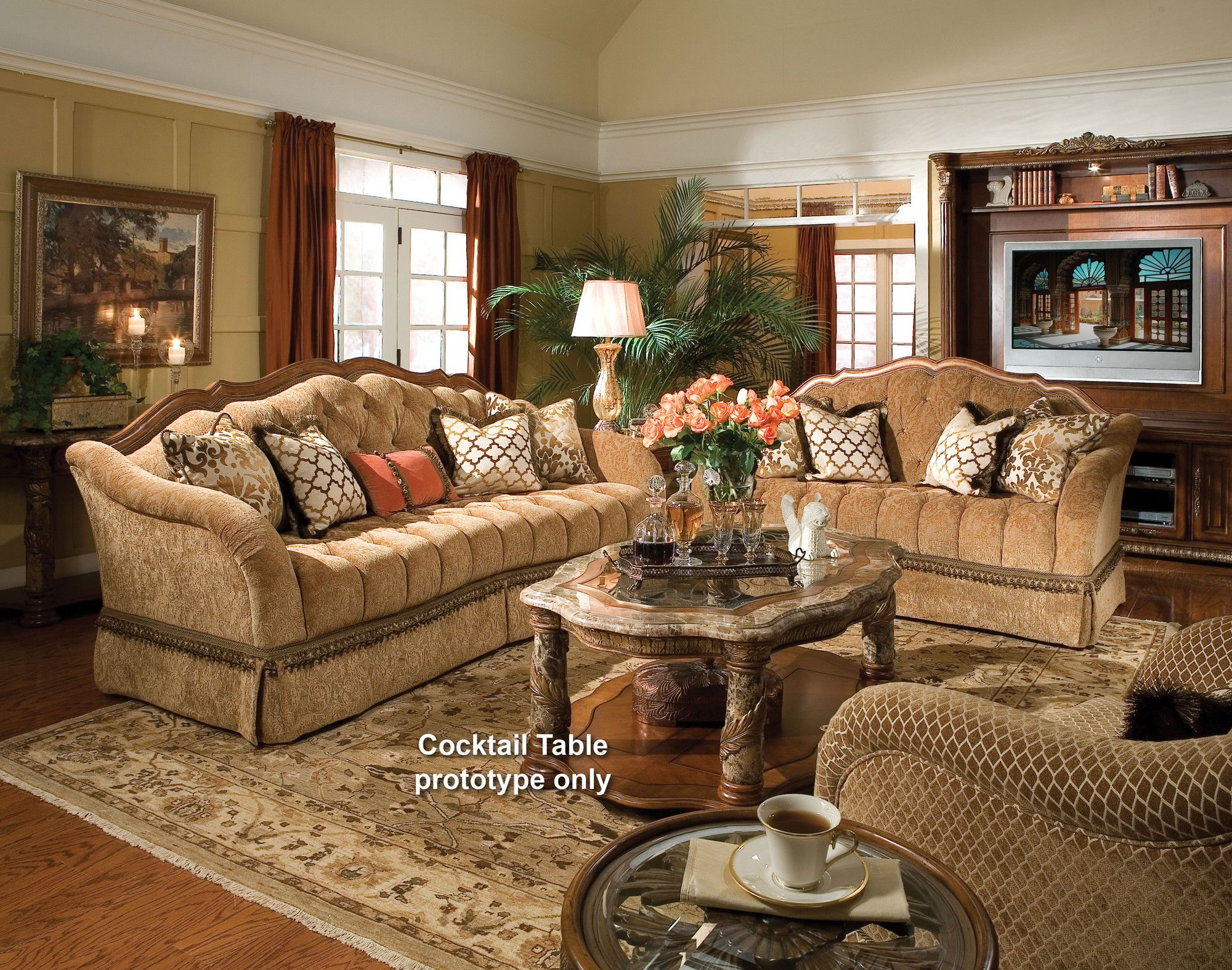 Room · Villa Valencia Living Room Collection | Wayfair