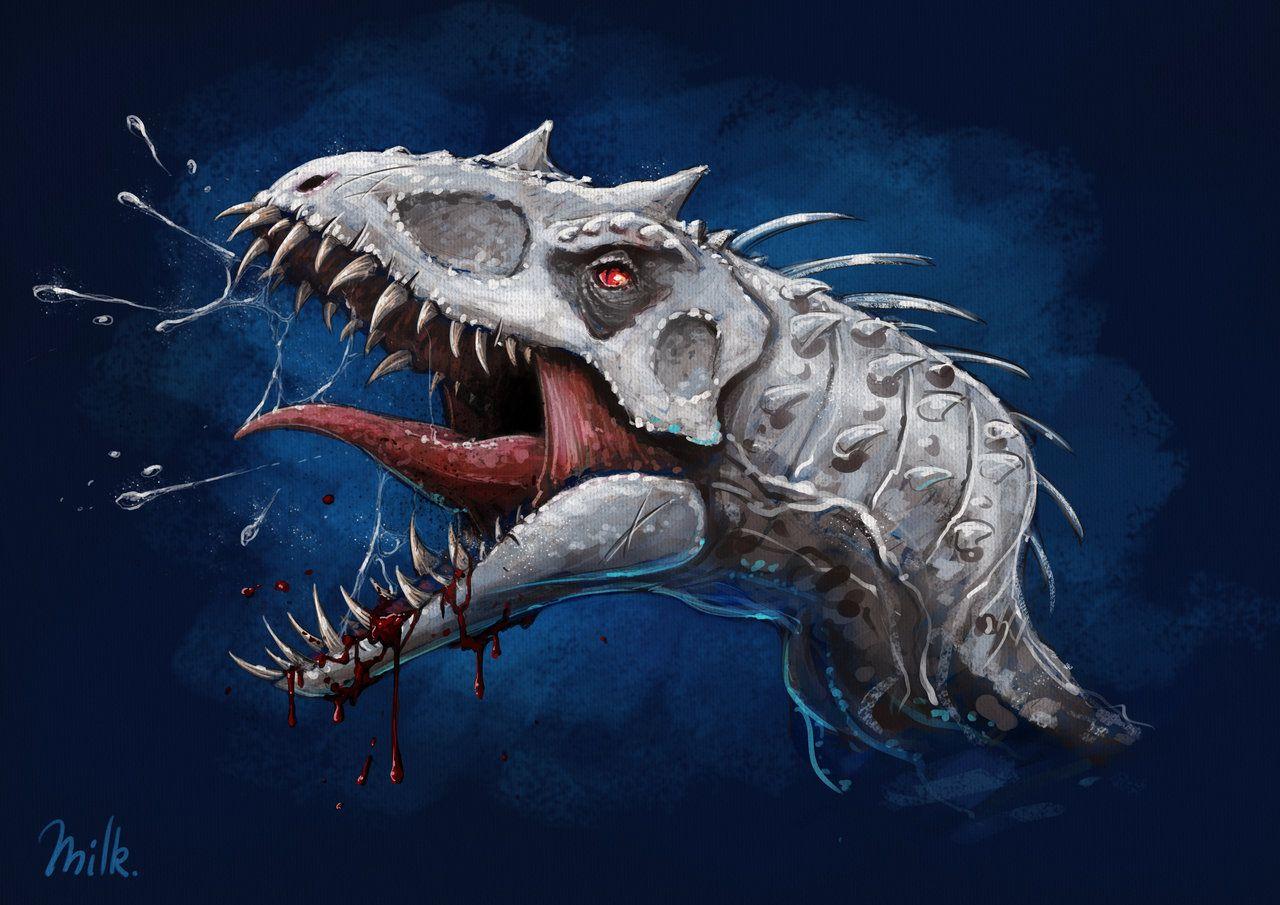 Indominus Rex by twistedouttacontrol Indominus rex