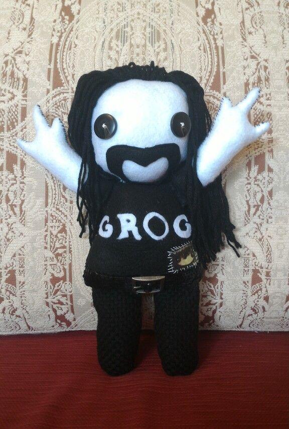 Omaggio ai GROG #grog #joeperrino #music #rock #cucito #puppetz