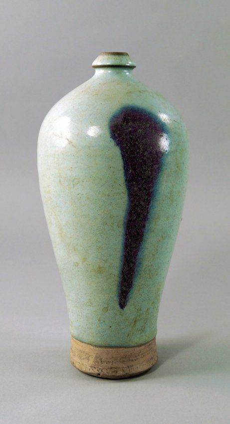 A Chinese Jun ware Meiping Vase, Northern Song Dynasty