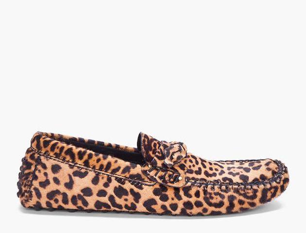 Yves Saint Laurent Leopard Driving