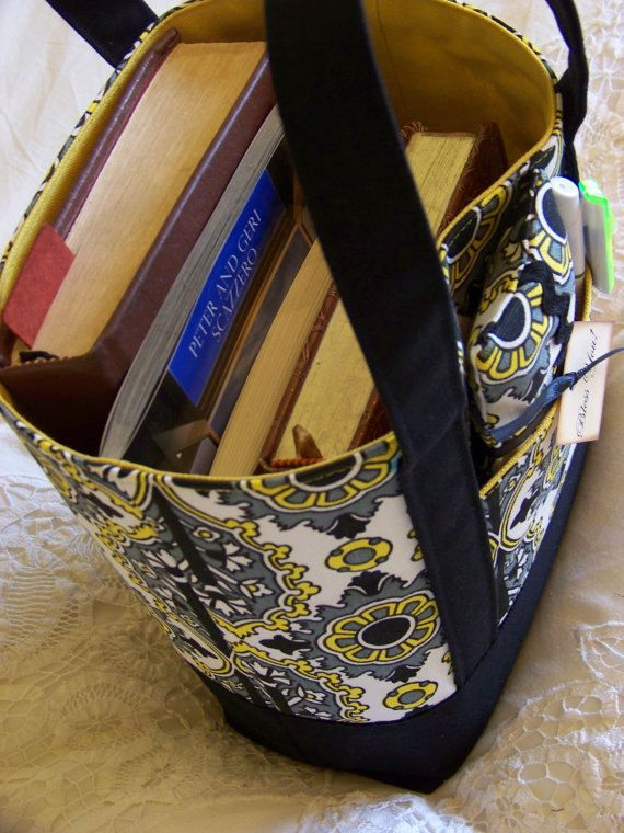 BIBLE Totes Perfect Tote for your Bible Journal by PennyBennett. I want to  try and make one of these. efb2a243c6