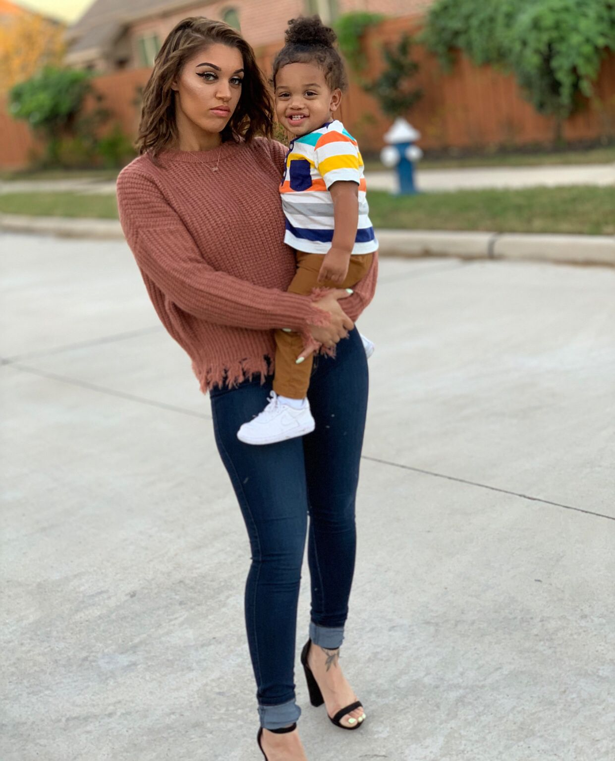 Pin By Ig K Aaylen On Goals Black Baby Boys Black Kids Fashion Family Outfits