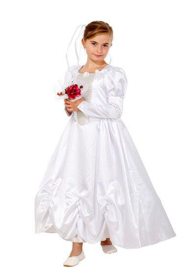 Lange bruidsjurk meisje #bruid #bruisjurk #bruiloft