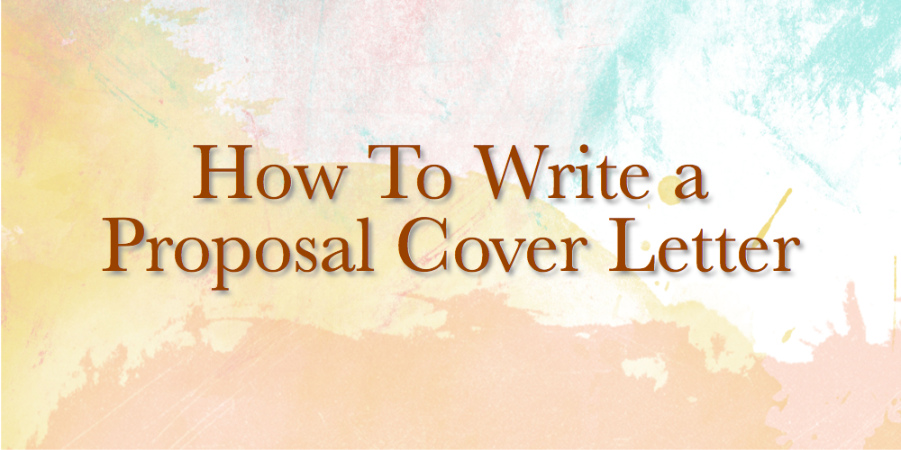 How To Write A Sales Proposal Cover