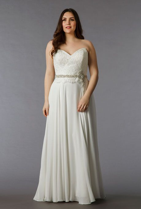 Beautiful Second Wedding Dress For Plus Size Bride Second Wedding