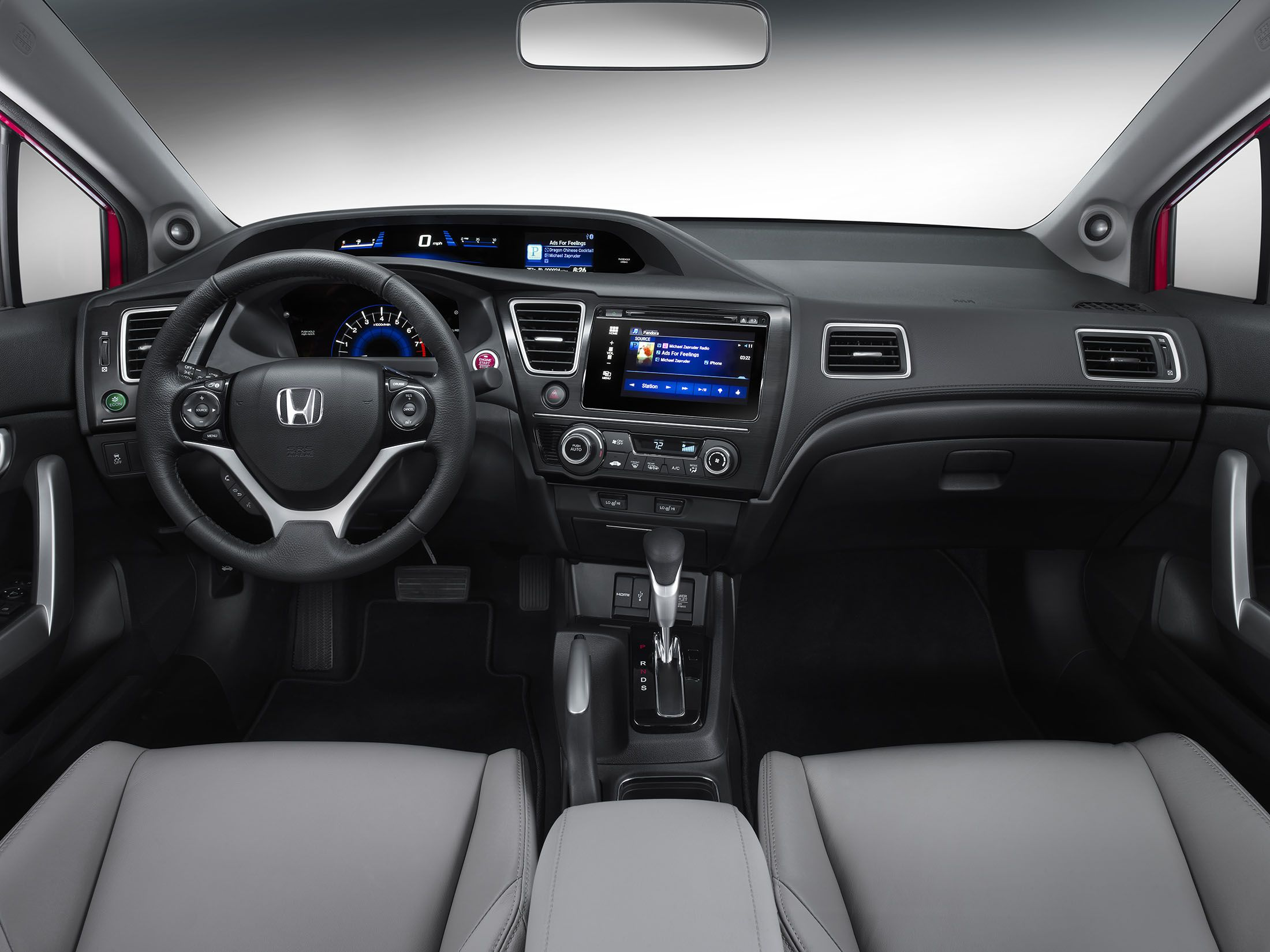 2015 Honda Civic Interior | Auto speed | Pinterest