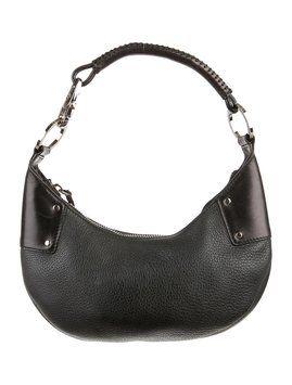 06074cc282b37 Rare Vintage Tom Ford Era Black Leather Shoulder Bag   Craving ...
