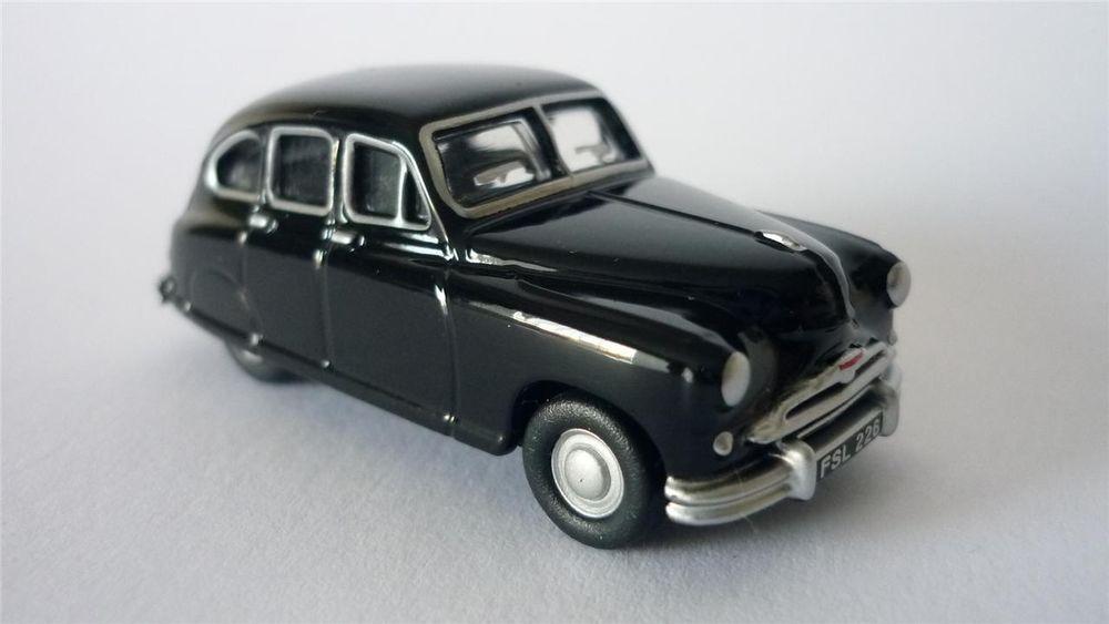 Oxford Diecast 1/76 Black Standard Vanguard 76SV001 00 Gauge ...