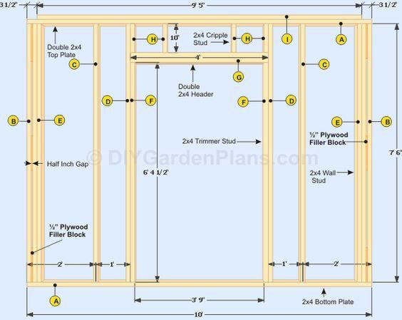 Diy Door Frame Google Search Shed Construction Diy