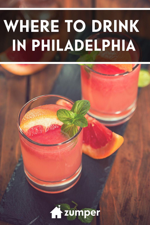 Best Bars In Philadelphia Drinks Alcohol Recipes Alcohol Drink Recipes Mixed Drinks Recipes