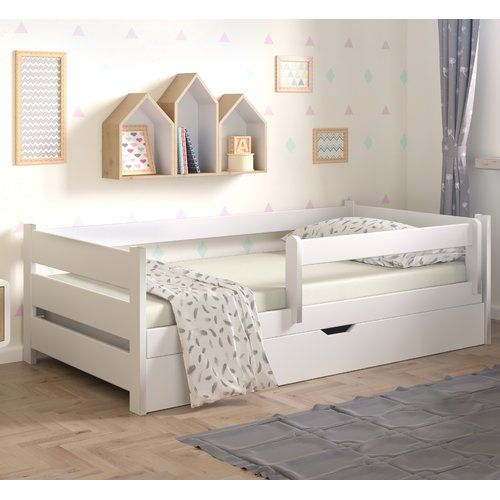Nordville Primo Convertible Toddler Bed With Drawer Bed With