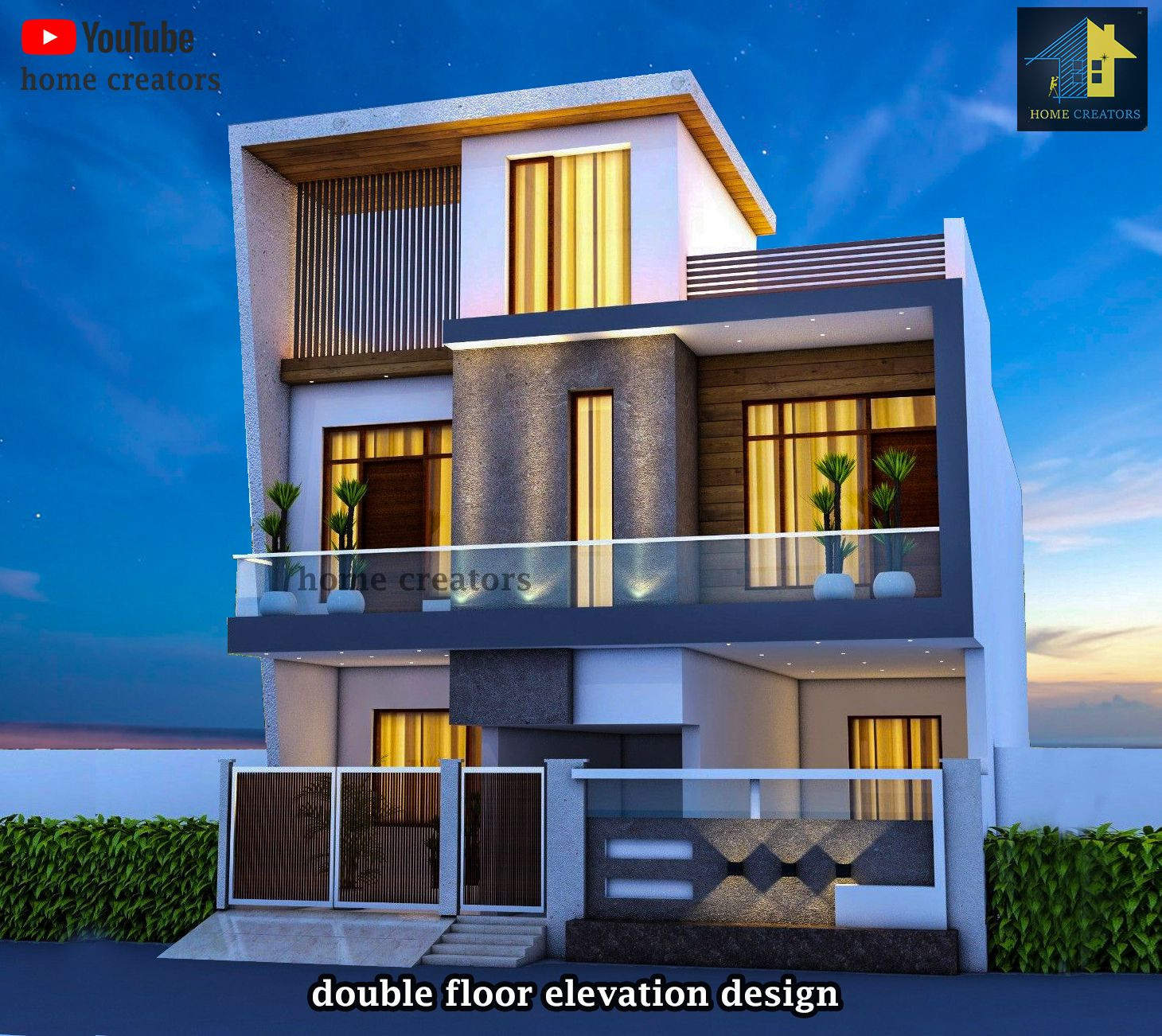 Duplex House Design, House