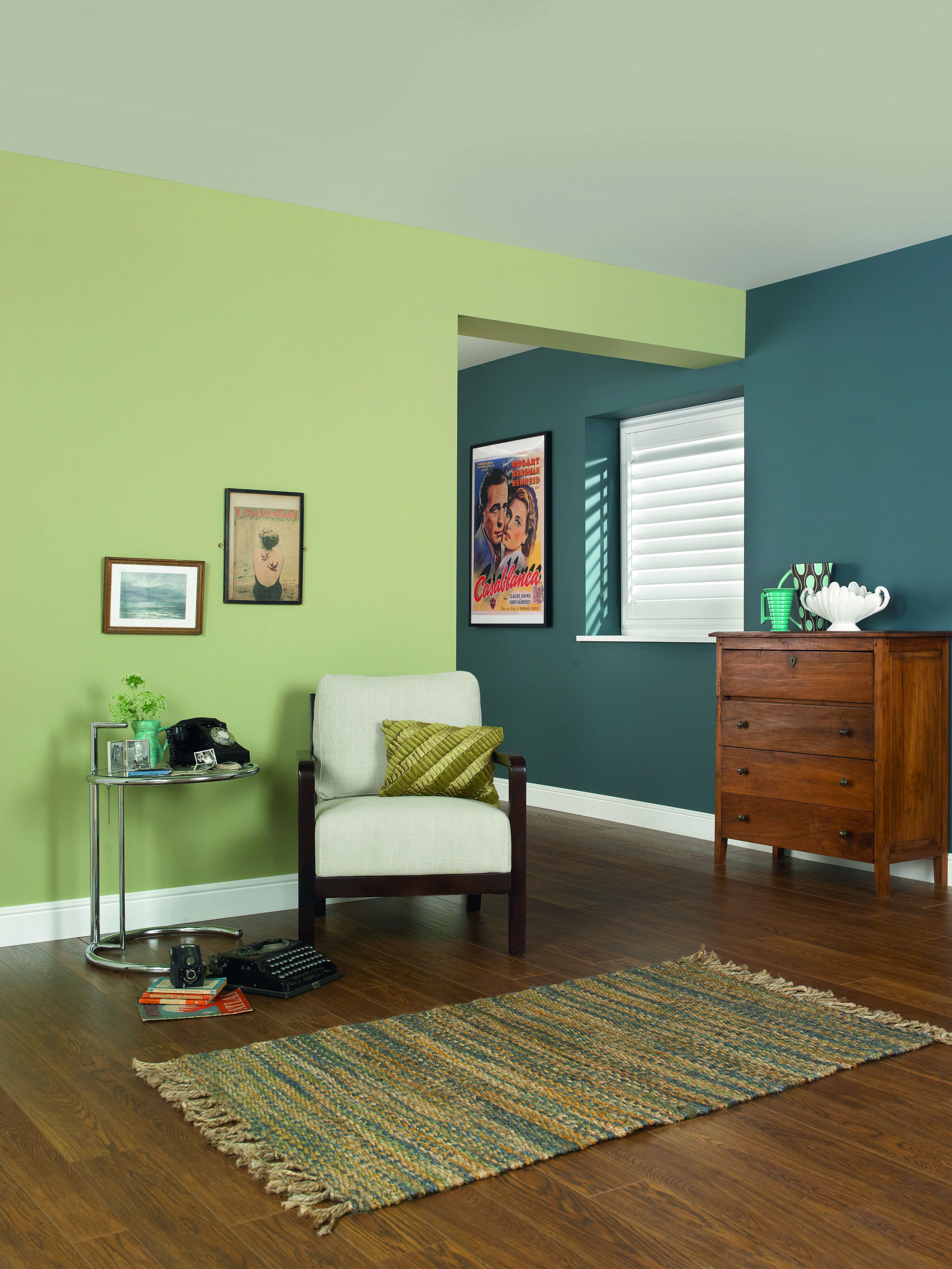 Rooms: Natural Green Tones Will Brighten Up Any Room