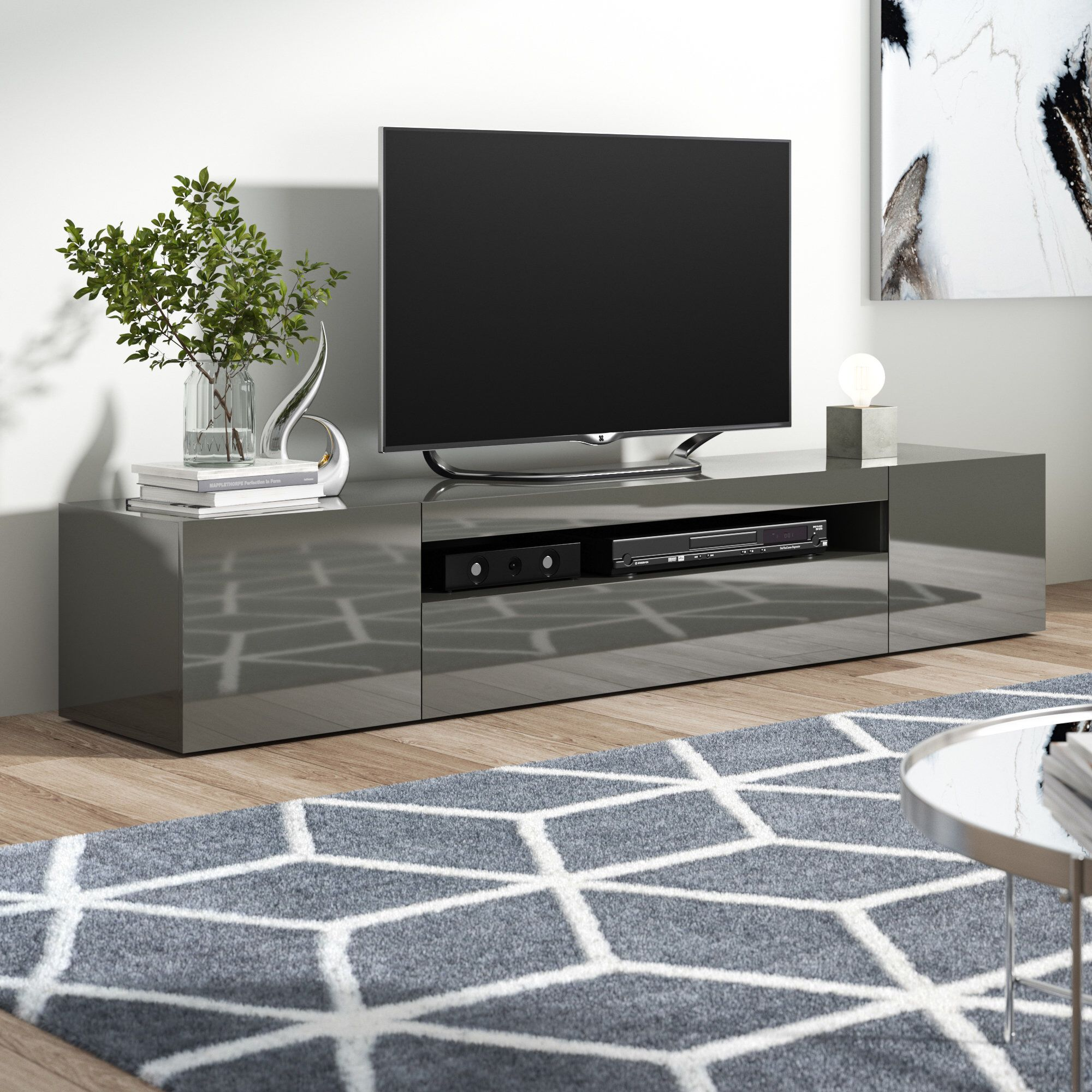 Storage Units Hobart Hobart Tv Stand For Tvs Up To 78