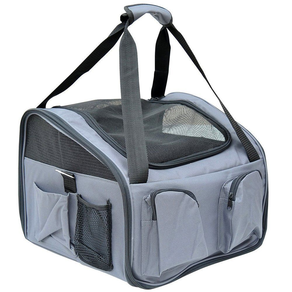 Tenive Foldable SoftSided, Airline Approved, Pet Carrier