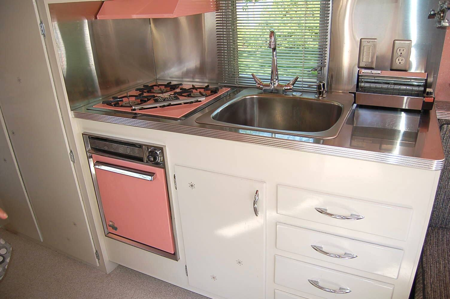 1961 Holiday Interior Kitchen Cabinets For Sale Vintage Kitchen Cabinets Holiday Trailer