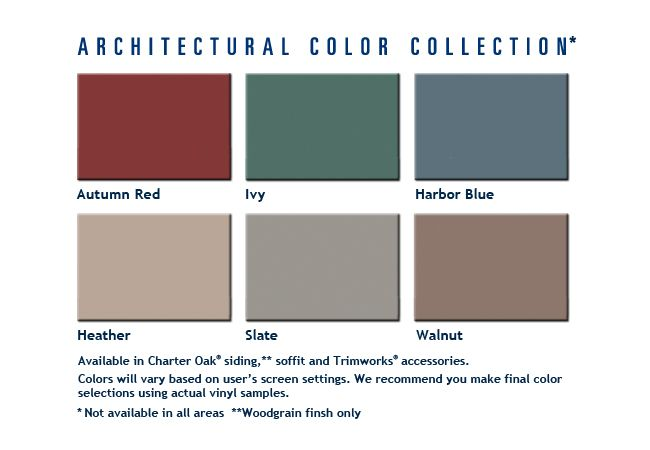 Alside Architectural Colors Alside Vinyl Siding Architecture