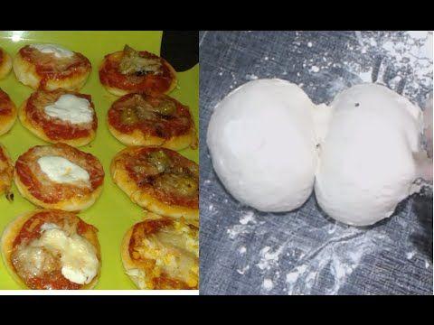 عجينة البيتزا باللبن عجينة البيتزا الإيطالية Pate A Pizza Italienne Italian Pizza Dough وصفات من مطبخ هندوشة Food Breakfast Muffin