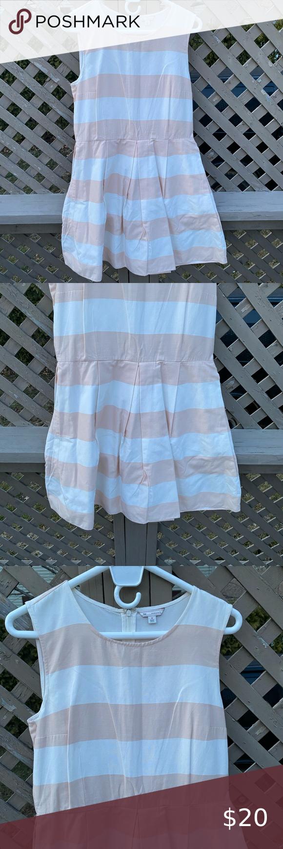 Gap Striped Summer Dress Size 12 In 2020 Striped Dress Summer Summer Dresses Light Summer Dresses [ 1740 x 580 Pixel ]