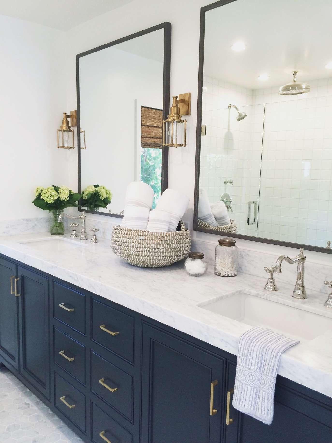 Photo of 10 Navy Blue Bathroom Ideas