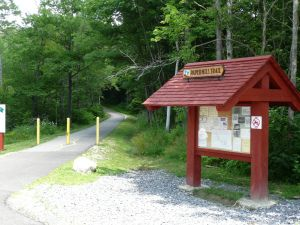 Kiosk With Sign On Roof Information Kiosk Outdoor Decor Gazebo